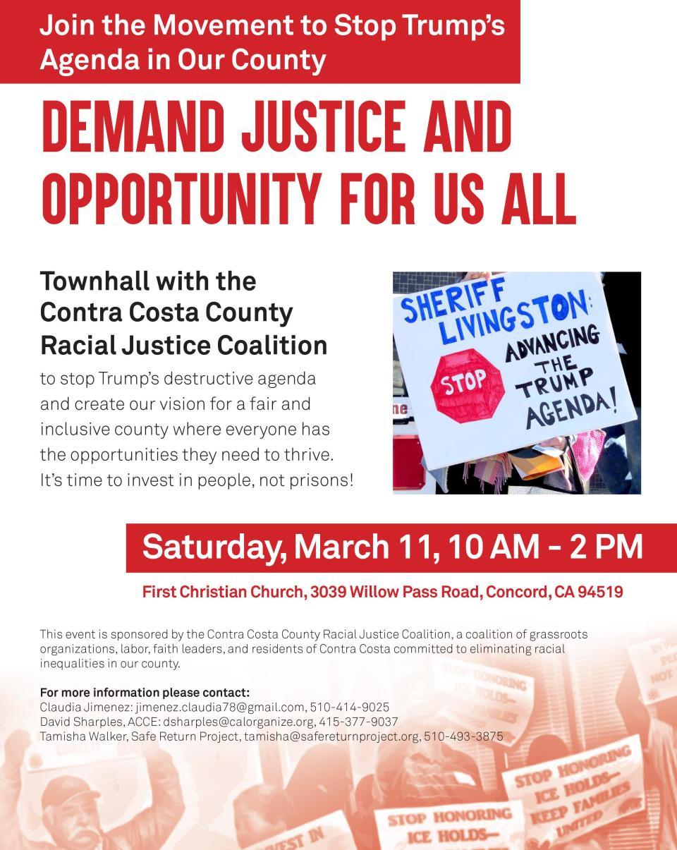 CCCRJC March 11 2017 Event